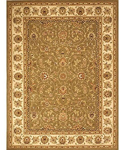 Safavieh Handmade Isfahan Sage/ Ivory Wool and Silk Rug (9'6 x 13'6)