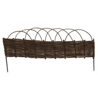 GardenPath 8-pack Willow 36-inch Border Garden Fence