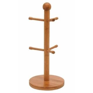 """Natural Wood Mug Tree (14.25""""x6.5"""")"""