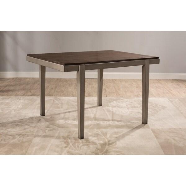 Hillsdale Furniture Garden Park Dining Table, Gray - Grey