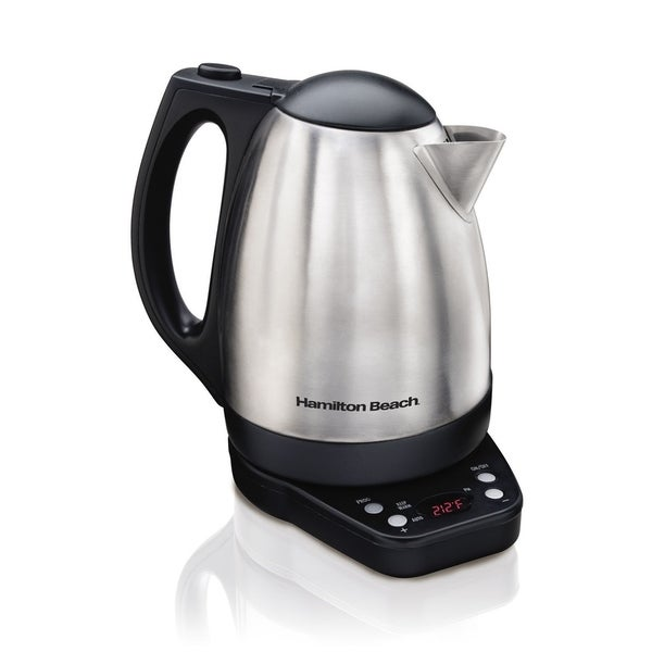 Hamilton Beach 1500W 1.7 L Variable Temp Kettle Electric Cordless 29667027