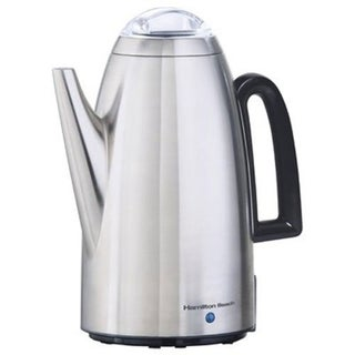 Hamilton Beach Brands 40614 Coffee Percolator, Stainless Steel, 12-Cup 29693677