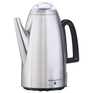 Hamilton Beach Brands 40614 Coffee Percolator, Stainless Steel, 12-Cup 29693677