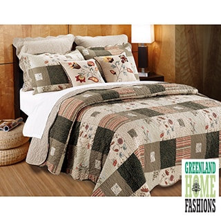 Greenland Home Fashions Sedona Cotton 5-piece Quilt Set