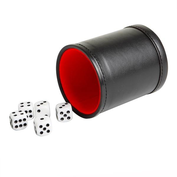 Modifier Dice Cup w/ 5 Dice - Black 29792589