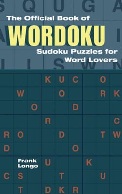 The Official Book of Wordoku: Sudoku Puzzles for Word Lovers (Paperback)