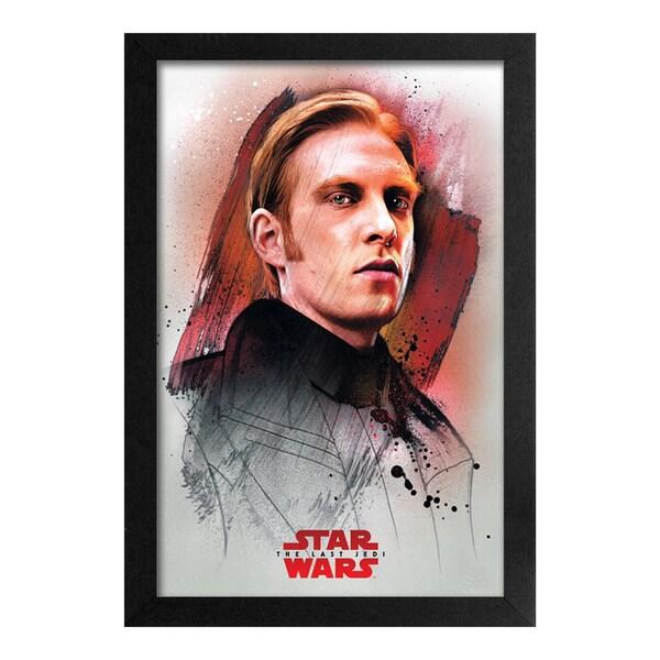 Star Wars - Last Jedi - Hux Profile - Framed 11x17 print 29816614