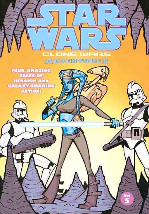 Star Wars Clone Wars Adventures 5 (Paperback)
