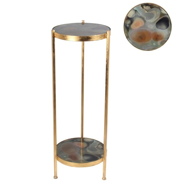 Accent Table - Colored Glass 29827757