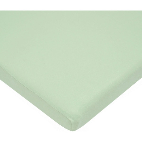 American Baby Company Value Jersey 100 Percent Cotton Knit Bassinet Sheet - Celery - 2 Pack 29861163