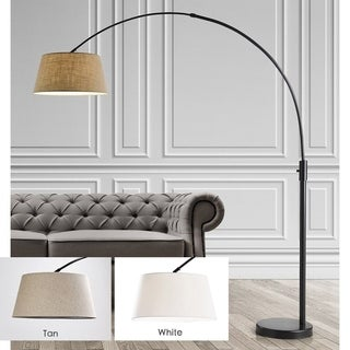 Orbita 82-In Retractable Arch Dimmable Floor Lamp include with15W LED Bulb