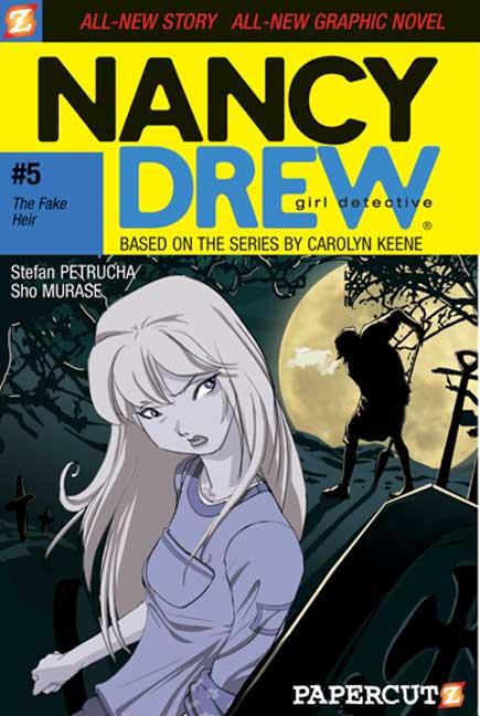 Nancy Drew Girl Detective 5: The Fake Heir (Paperback)