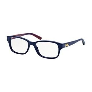 Ralph Lauren Women's RL6119 5459 51 Blu Navy Square Plastic Eyeglasses 29880473