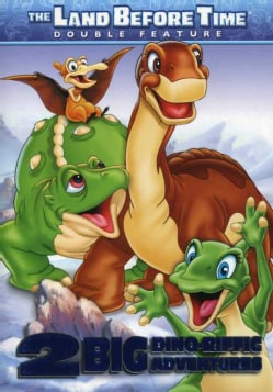 The Land Before Time: 2 Dino-Riffic Adventures: The Land Before Time Volume 8: The Big Freeze/ The Land Before Time Vol... (DVD)