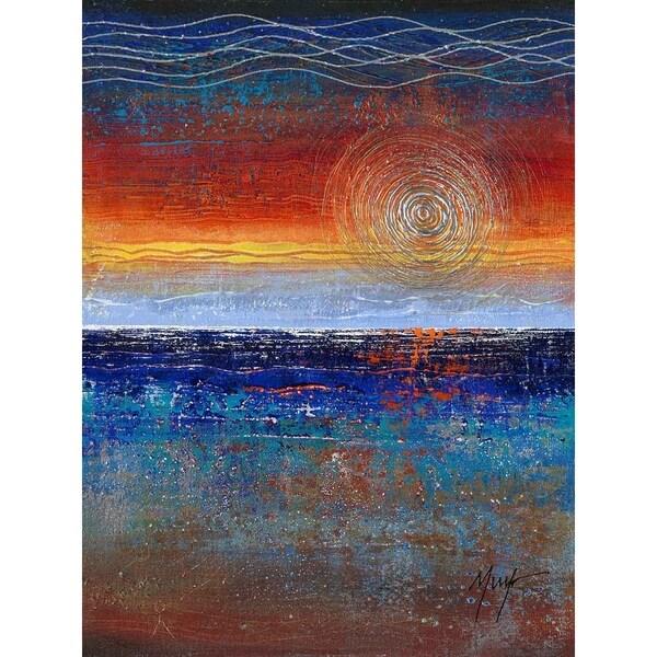 Sunrise by Murf, Giclee Canvas Wall Art Print 29898354