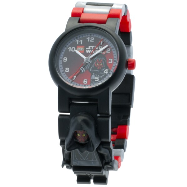 LEGO Star Wars Darth Maul Minifigure Link Watch 29899597