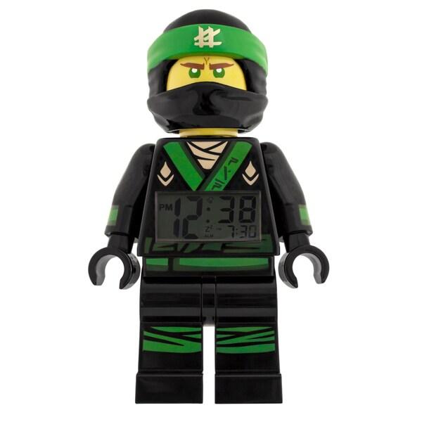 LEGO Ninjago Movie Lloyd Minifigure 9.5- in Clock 29899675