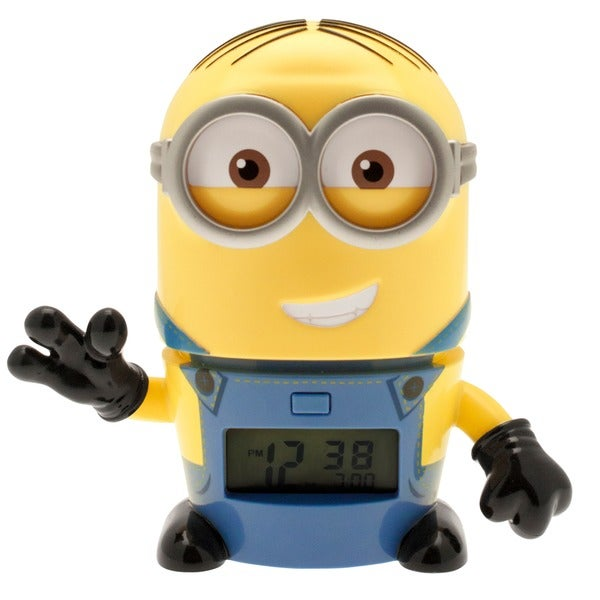 BulbBotz Despicable Me 3 Dave 5.5 in Clock 29899691