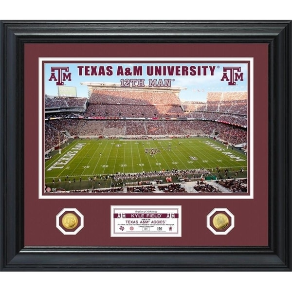 Texas A&M University Special Edition Gold Coin Photo Mint - Multi-color 29902936