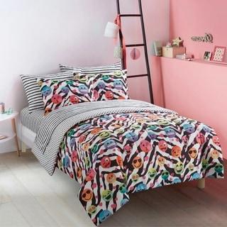 EmojiPals Zebra 7-piece Bed in a Bag Set