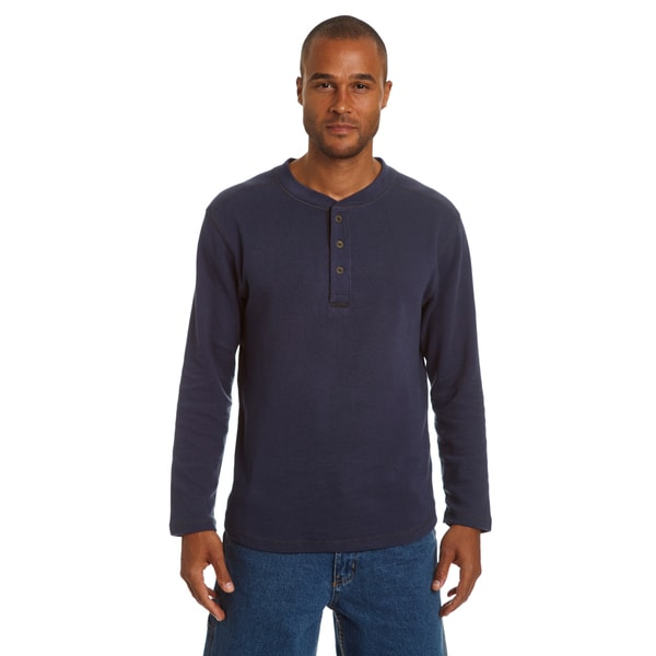 Stanley Men's Henley Thermal with Underarm Gusset 29906544