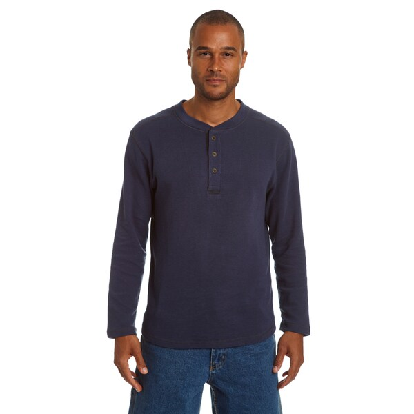 Stanley Men's Henley Thermal with Underarm Gusset 29906561