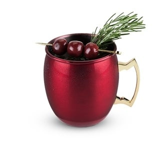 Rustic Holiday: Red Moscow Mule Mug by Twine 29907081