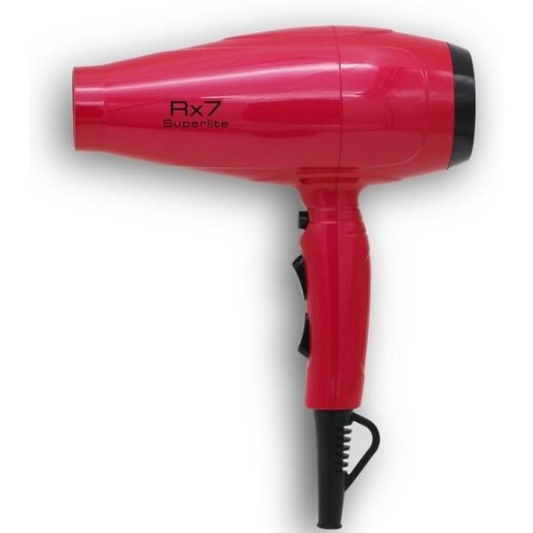 RX7 Superlite Ionic Tourmaline Red & Black Hair Dryer 29910612