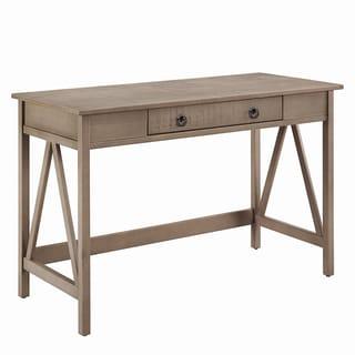 Linon Elaine Driftwood Writing Desk