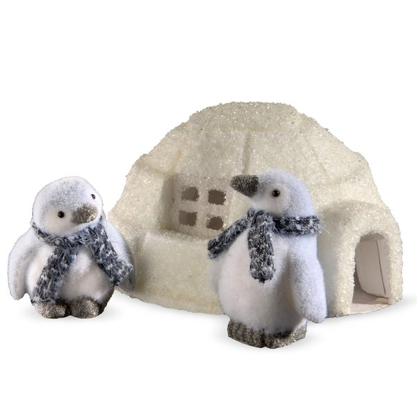 3-piece Penguin and Igloo Set 29919430