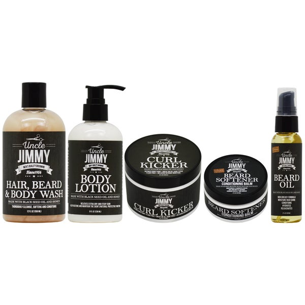 Uncle Jimmy Hair Body & Beard Care 5-piece Collection 29920107