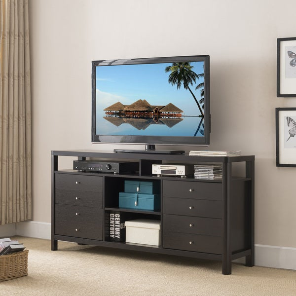 Furniture of America Clepton Contemporary 4-drawer Cappuccino TV Stand 29920942