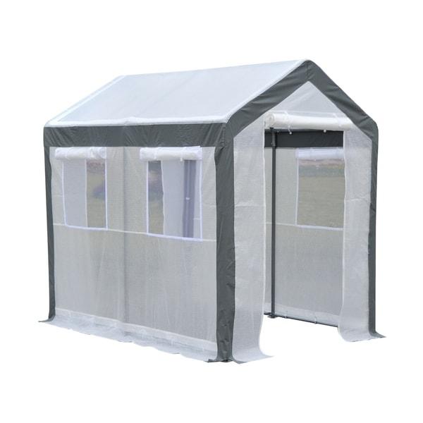 Outsunny 8' x 6' x 7' Heavy Duty Walk In Greenhouse 29934156