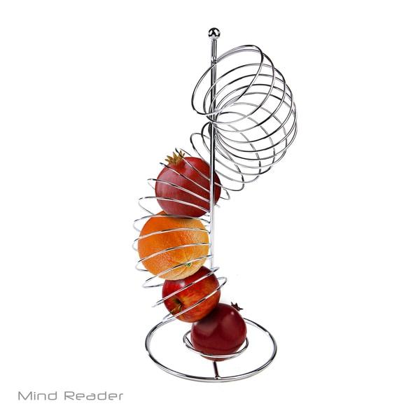 Mind Reader Stainless Steel Twisted Orange Fruit Holder 29943073