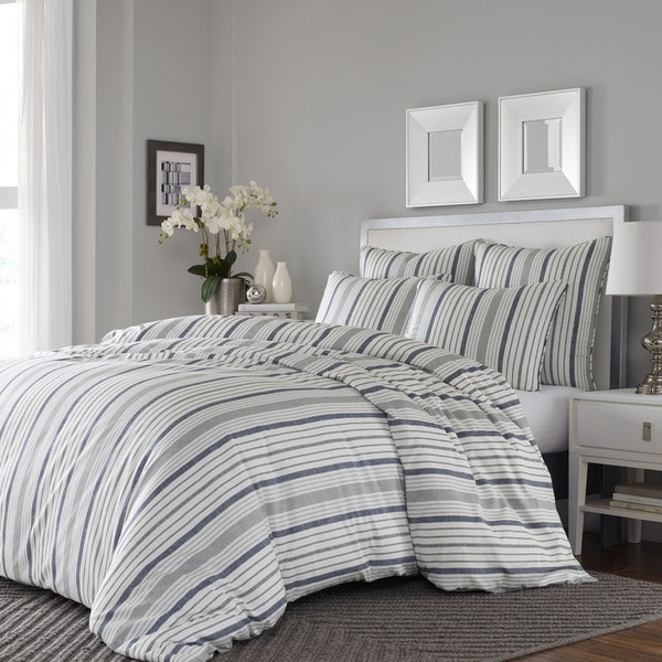 Stone Cottage Conrad 3-piece Cotton Comforter Set in Full/Queen (As Is Item) 29955110