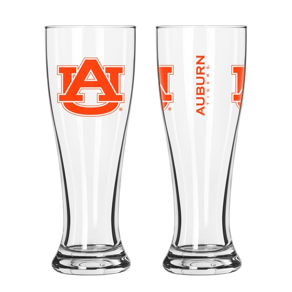 Auburn University Tigers NCAA 2-Pk Gameday Pilsner Set 29986916