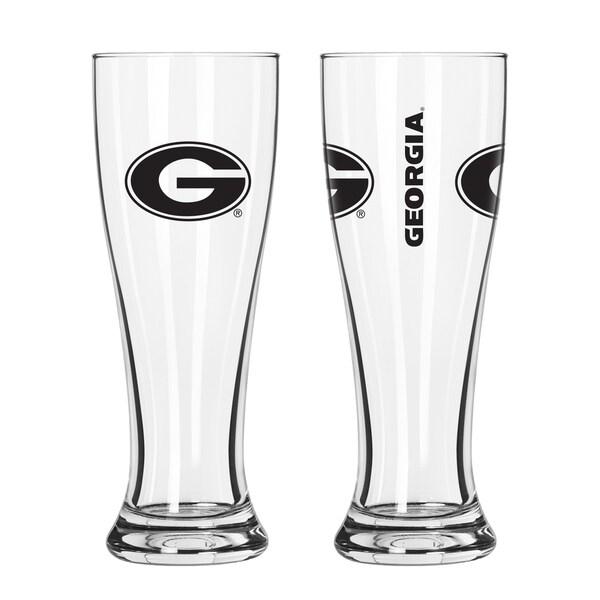 Georgia Bulldogs NCAA 2-Pack Gameday Pilsner Set 29986920