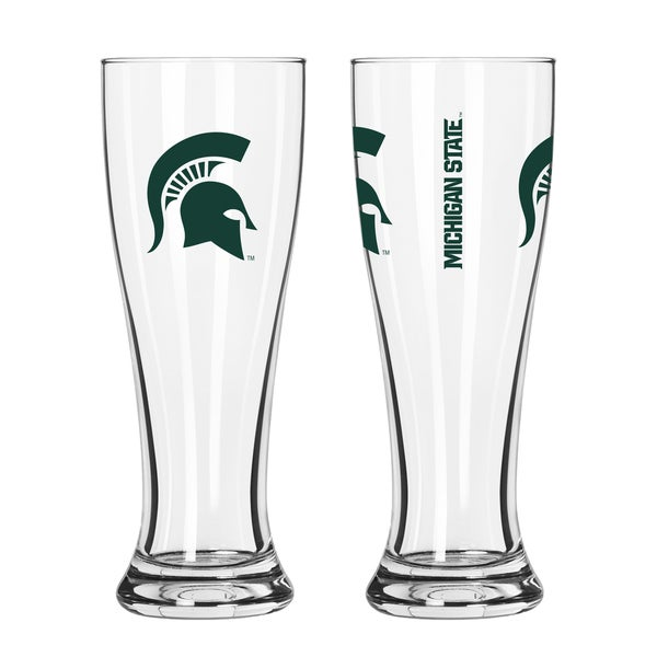 Michigan State Spartans NCAA 2-Pack Gameday Pilsner Set 29986926