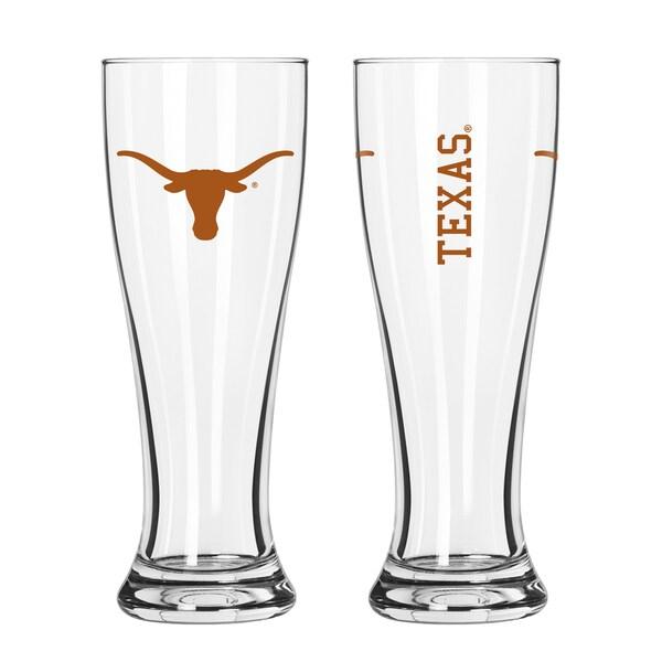 Texas Longhorns NCAA 2-Pack Gameday Pilsner Set 29986938