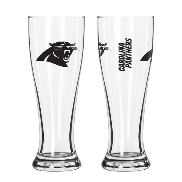 Carolina Panthers NFL 2-Pack Gameday Pilsner Set 29987129