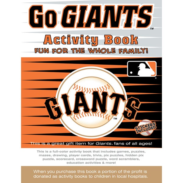 In the Sports Zone The Go Giants Activity Book 29987301