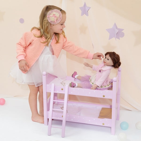 Olivia's Little World - Twinkle Stars Double Bunk Bed 29994097