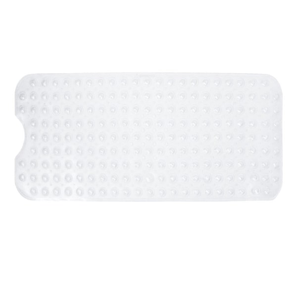 Extra-Long Nonslip Jumbo Bathtub Mat with Strong Grip Suction Cups - Large Vinyl Anti slip Floor Mat for Extra Coverage 29998976
