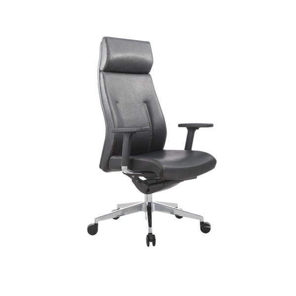 TGEG Executive High Back Multi Function Ergonomic Office Chair, Black 30000844