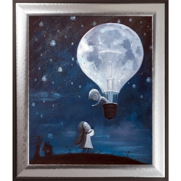 Adrian Borda 'He Gave Me The Brightest Star' Hand Painted Oil Reproduction 30012755