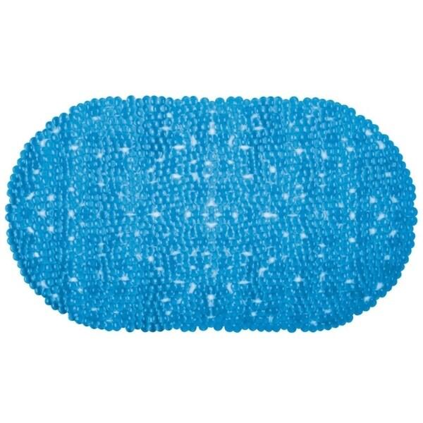 Richard Homewares Anti Slip Bath Tub Mat - Charming bubble design with Oval Shape - Soft Vinyl Bubble Comfort 30016021