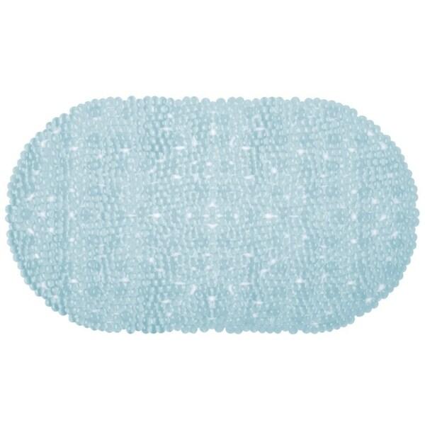 Light Blue Non-Slip Multi Bubble Texture Bath Mat by Richards Homewares 30016032