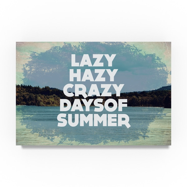 Vintage Skies 'Hazy Days Of Summer' Canvas Art 30056761