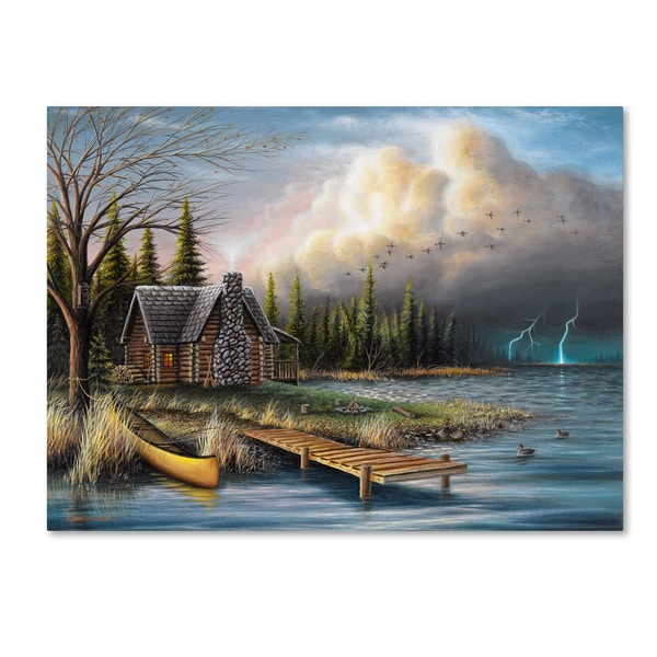 Chuck Black 'The Perfect Storm' Canvas Art 30068552
