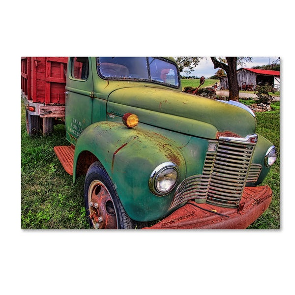 Bob Rouse 'Farm Vehicle' Canvas Art 30069862